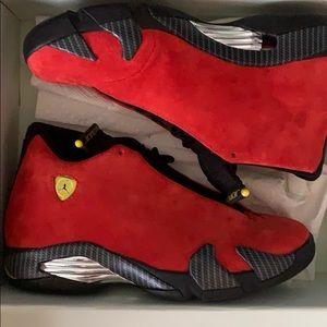 Jordan 14 Ferrari Size 8 No box